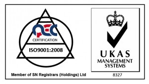 UKAS Accredited Certification Body Registration Number 8327