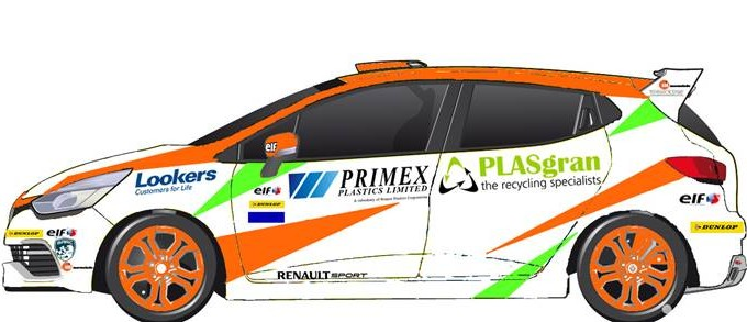 PLASgran Sponsor British Touring Car Driver