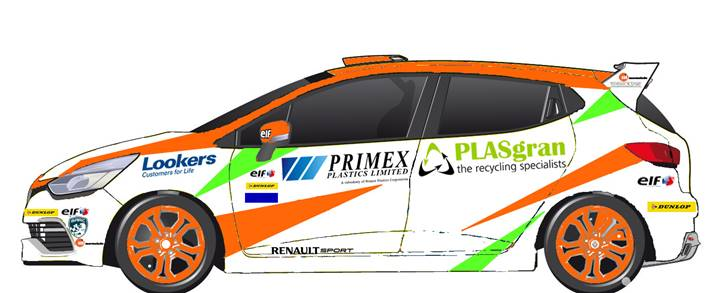PLASgran Sponsor Racing Car Driver