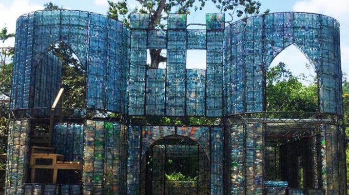 Welcome To The Plastic Bottle Village