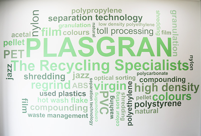 plasgran wall art