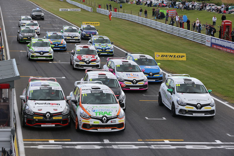 Renault Clio Cup Start