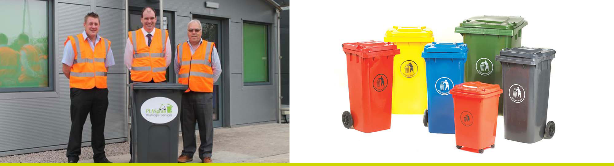 Municipal Services for end of life wheelie bins