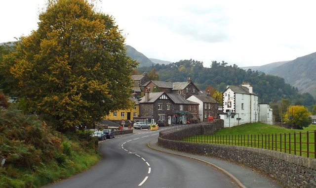 Cumbria Plastic Road