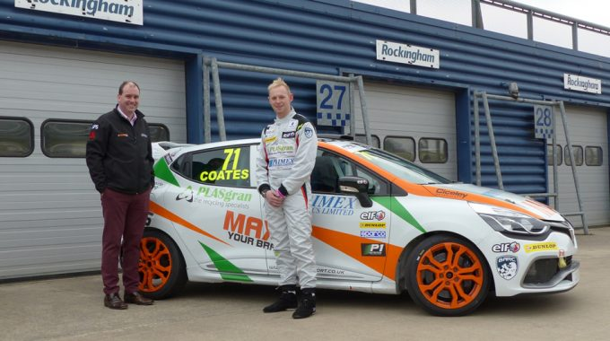 PLASgran Sponsorship With Max Coates Continues