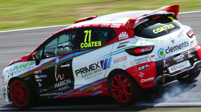 Coates Takes Podium At Snetterton