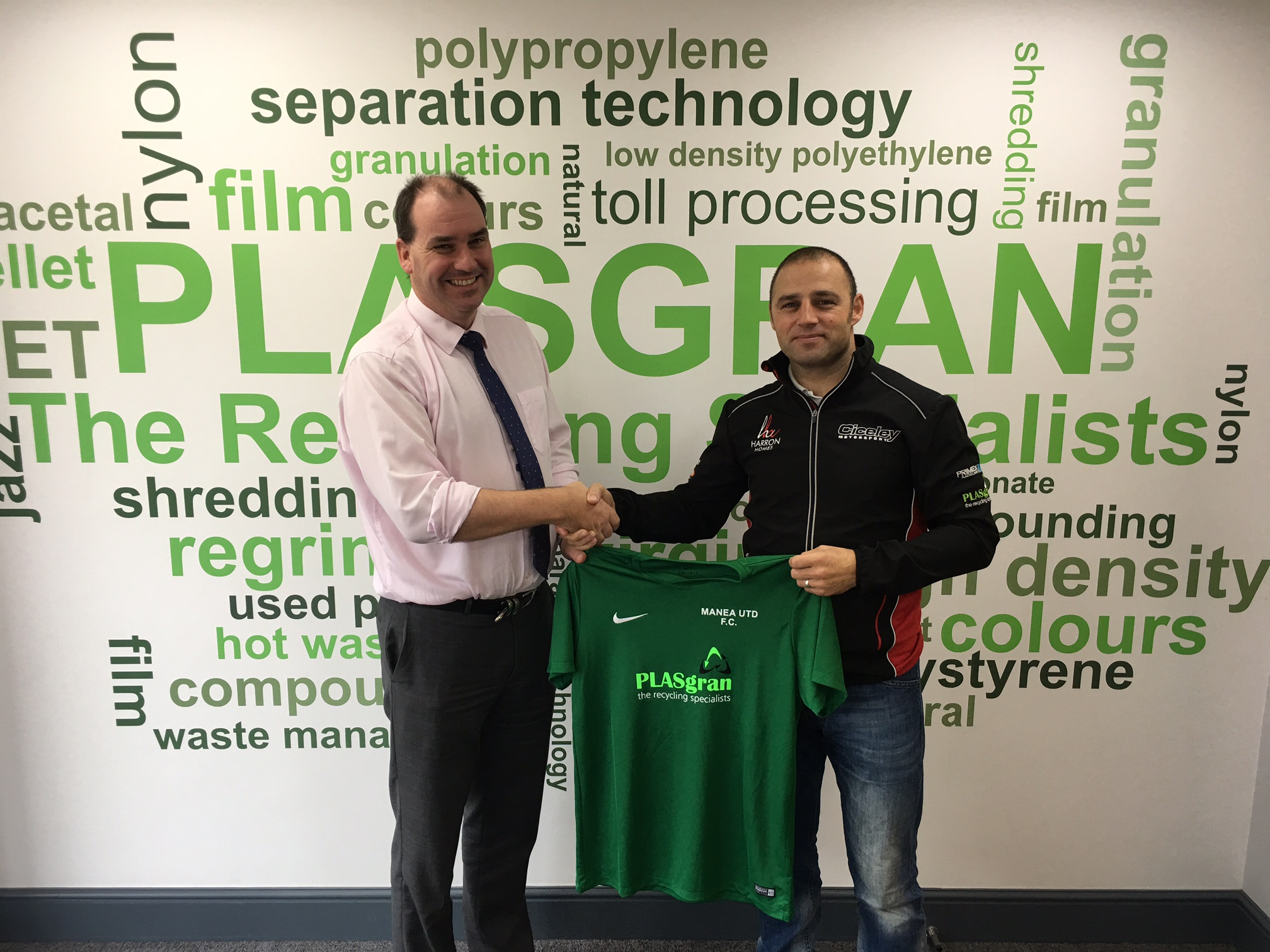 Renewed Sponsorship Of Local Team Manea Utd FC