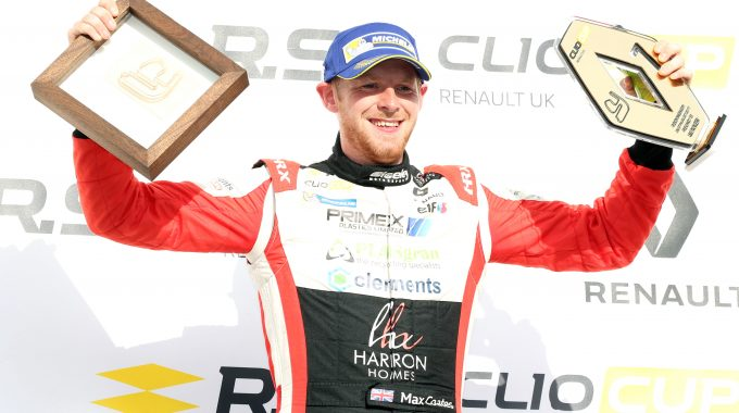 Coates Remains In Renault UK Clio Cup With Team Pyro