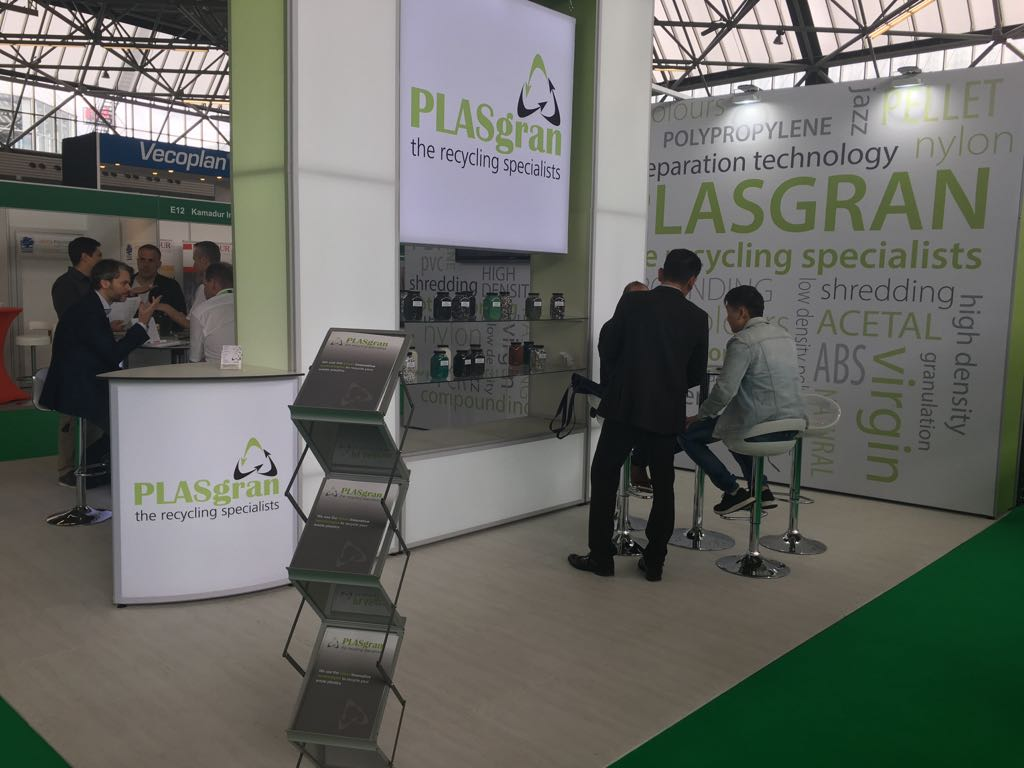 Plasgran Are At The Plastics Recycling Show Europe 2018