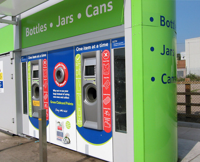 Tesco To Trial In-store Plastic Bottle Recycling Machines