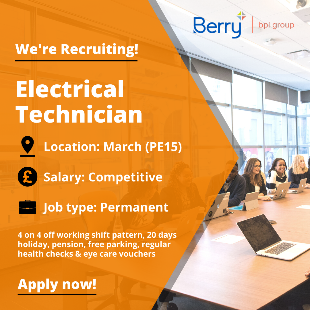 New Vacancy For A Electrical Technician