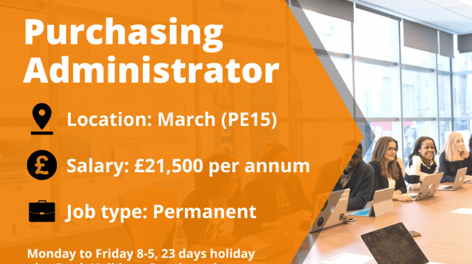 New Vacancy For A Purchasing Administrator