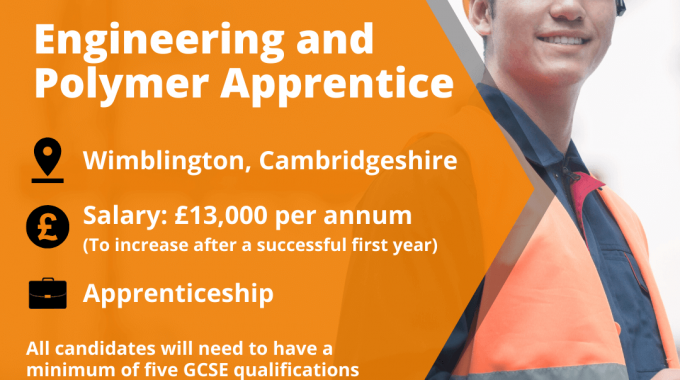 We're Recruiting Apprentices!